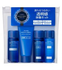 Set Dưỡng Da Mini Shiseido Aqualabel White Up