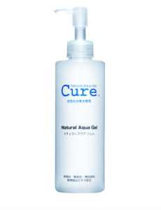 Review gel tẩy da chết Cure Natural Aqua